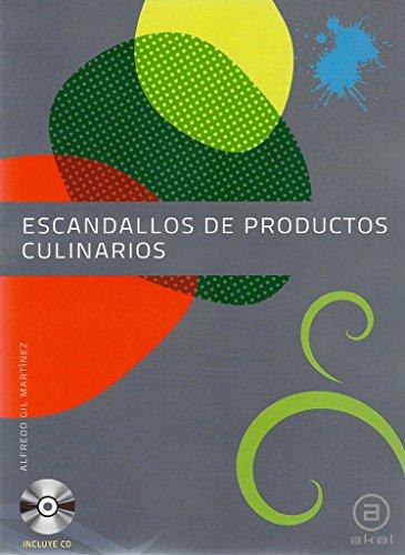 9788446031529: Escandallos de Productos Culinarios (Grado Superior) (Contiene cd )
