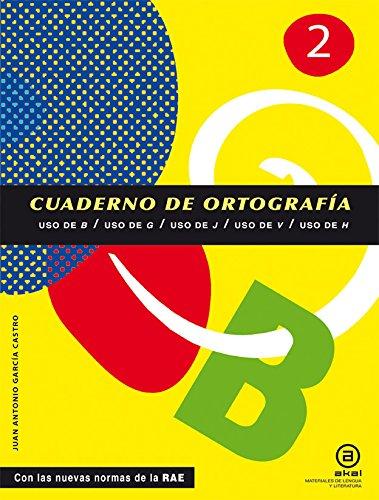 9788446034131: Cuadernos De Ortografía. Uso De B, G, J, V, H. 1º ESO - Número 2 (Materiales Lengua Y Lit.)