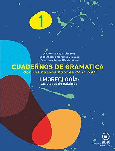 9788446034155: cuad gramatica 1 morfologia las clases de palabras