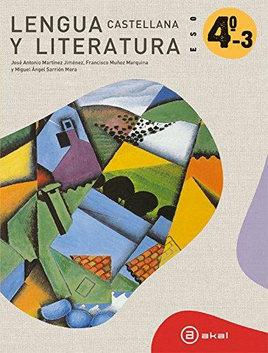 9788446035084: Lengua castellana y literatura 4º ESO. Libro del alumno (Enseñanza secundaria) - 9788446035084