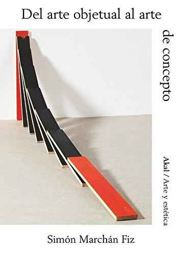 9788446037255: Del arte objetual al arte de concepto