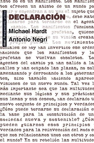 9788446037262: Declaración (Spanish Edition)