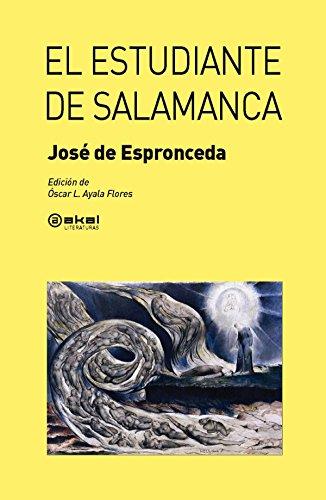 9788446037699: El estudiante de Salamanca