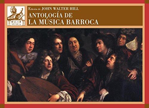 9788446038719: Antología de la música barroca
