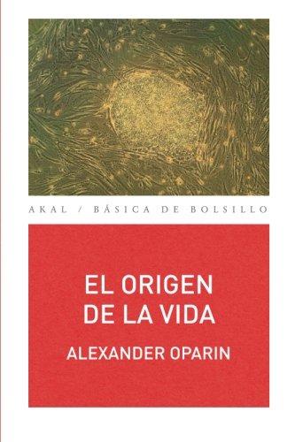 9788446041726: El origen de la vida (Spanish Edition)