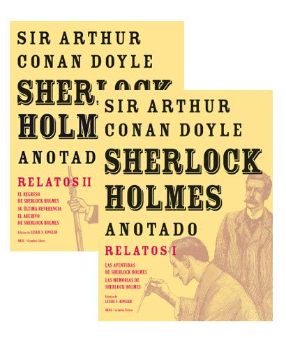 PACK SHERLOCK HOLMES ANOTADO: RELATOS II: CONAN DOYLE,ARTHUR