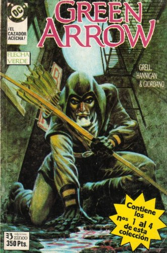 GREEN ARROW #01-04 - FLECHA VERDE - in Spanish (8446800195) by MIKE GRELL
