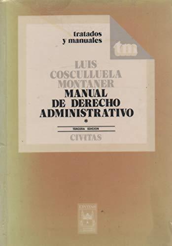 9788447000968: Manual derecho administrativo 1 (3ª edic.)