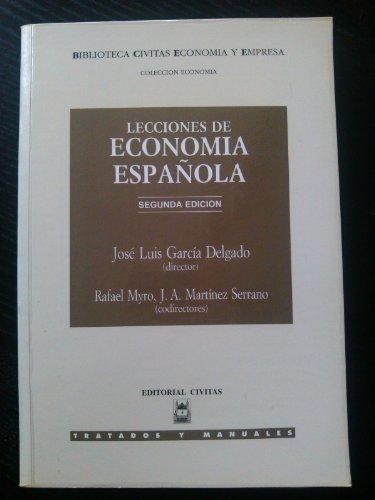 9788447006038: Lecciones de economia española