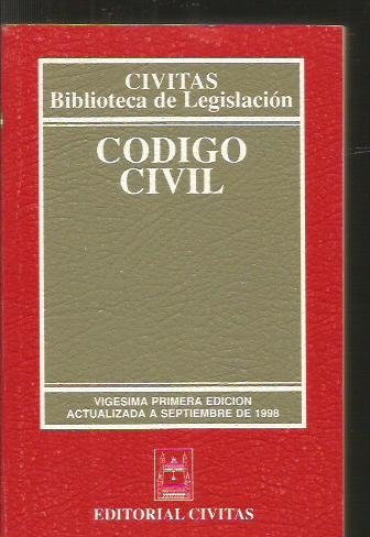 9788447010813: Codigo civil