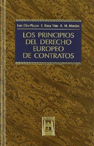 9788447017805: LOS PRINCIPIOS DEL DERECHO EUROPEO DE CONTRATOS