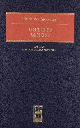 9788447018598: Derecho Minero (Estudios y Comentarios de Legislación)