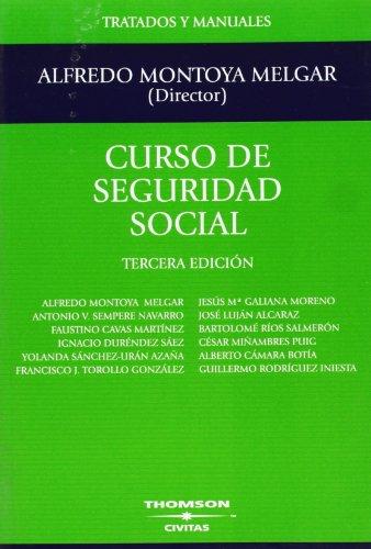 9788447024551: Curso de Seguridad Social (Tratados y Manuales de Derecho)