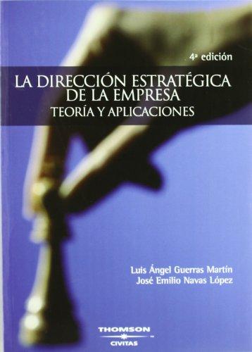 La dirección estratégica de la empresa: José Emilio Navas
