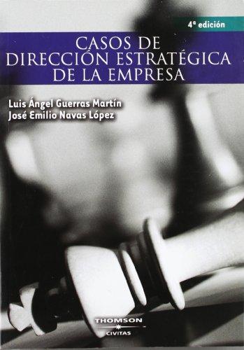 9788447030521: Casos de Dirección Estratégica de la Empresa (Tratados y Manuales de Empresa)