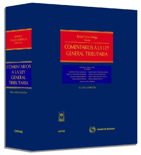 9788447031917: Comentarios a la Ley General Tributaria (Estudios y Comentarios de Legislación)