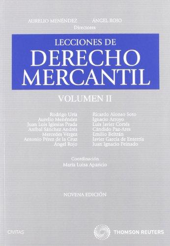 9788447033034: Lecciones de derecho mercantil (7ª ed.)