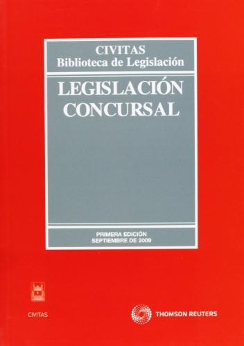 9788447033096: Legislación Concursal (Biblioteca de Legislación)