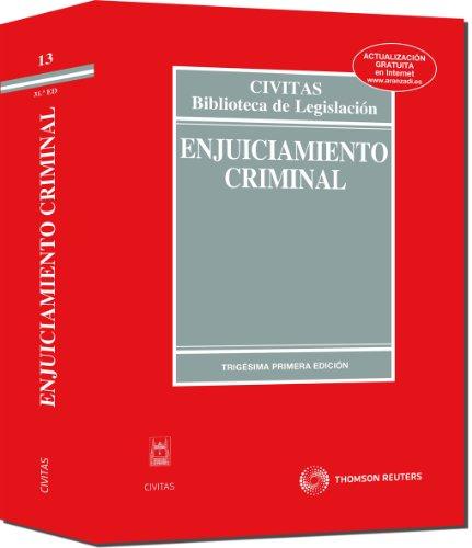 9788447033744: Enjuiciamiento Criminal (Código Universitario)