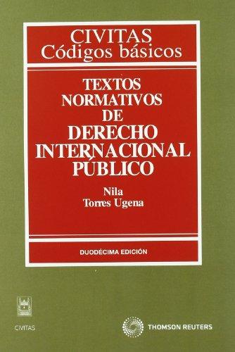 9788447034871: Textos normativos de derecho internacional público