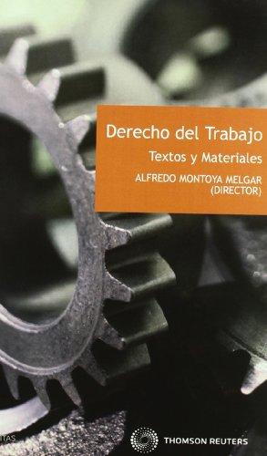 9788447035854: Derecho del Trabajo: Textos y Materiales
