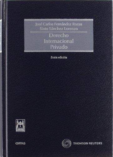 9788447036554: Derecho internacional privado