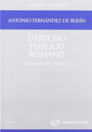 9788447036608: Derecho Público Romano (Tratados y Manuales de Derecho)