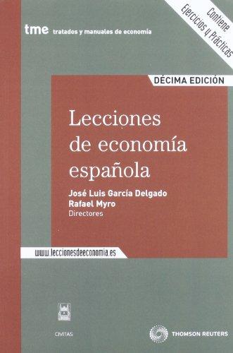 9788447036646: Lecciones de economía española (Tratados y Manuales de Economía)