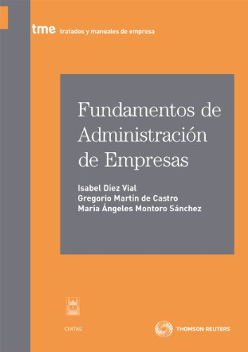 9788447037131: Fundamentos de Administración de Empresas (Tratados y Manuales de Empresa)