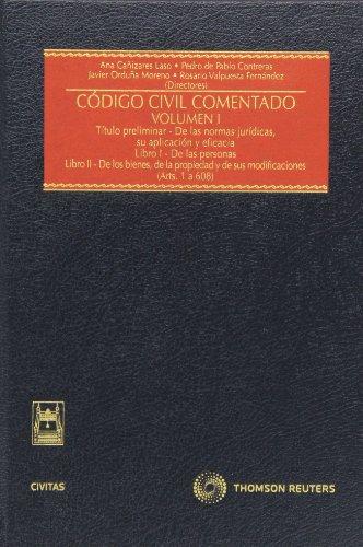 9788447037407: Codigo civil comentado (4 vols.) (Estudios / Comentarios Leg)