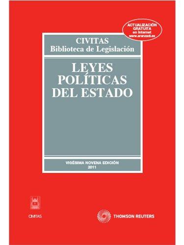 9788447037575: Leyes Políticas del Estado (Biblioteca de Legislación)
