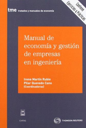 9788447037858: MANUAL DE ECONOMIA Y GESTION DE EMPRESAS DE INGENIERIA