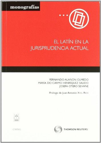 9788447037872: LATIN EN LA JURISPRUDENCIA ACTUAL