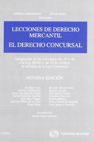9788447038497: El derecho concursal