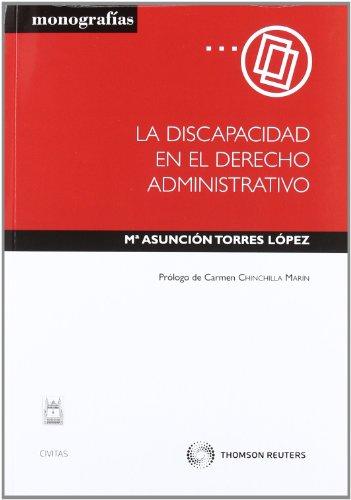 9788447038534: La discapacidad en el Derecho Administrativo