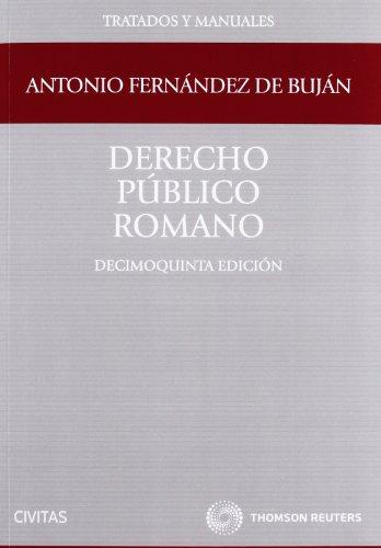 9788447039180: Derecho Público Romano
