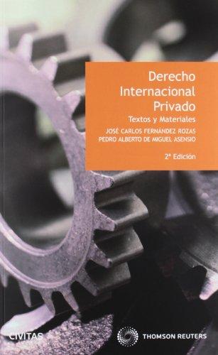 9788447039371: Derecho internacional privado