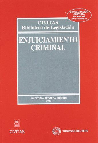 9788447039562: Enjuiciamiento Criminal (Biblioteca de Legislación)