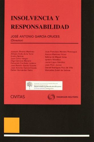 9788447040094: Insolvencia y Responsabilidad (Monografía)