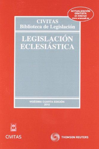 9788447040209: Legislación eclesiástica
