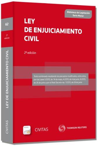 9788447042470: Ley de Enjuiciamiento Civil (SM) (Biblioteca de Legislación - Serie Menor)