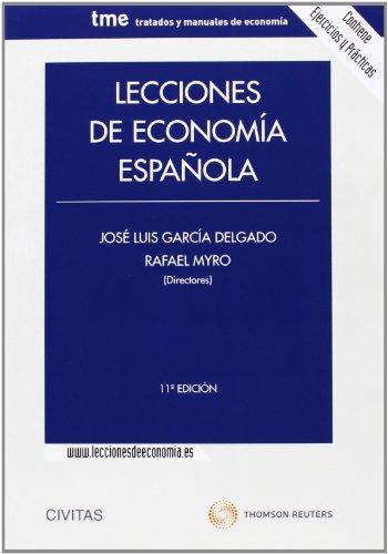 9788447042586: Lecciones de economía española (Tratados y Manuales de Economía)