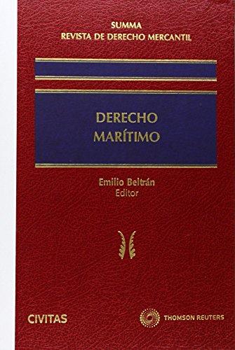 9788447043491: Summa Revista de Derecho Mercantil. Derecho Marítimo (Nuevos Clásicos)