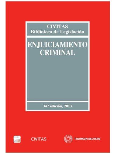 9788447044603: Enjuiciamiento Criminal (Papel + e-book) (Biblioteca de Legislación)