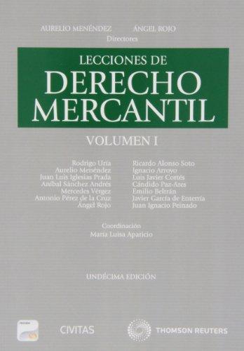 9788447044962: Lecciones de Derecho Mercantil Volumen I (Papel + e-book)