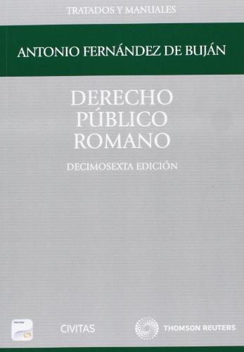 9788447045013: Derecho Público Romano (Papel + e-book)
