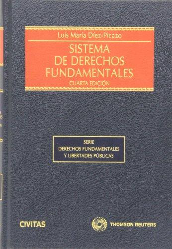 9788447045587: Sistema de Derechos Fundamentales (Papel + e-book) (Estudios y Comentarios de Legislación)