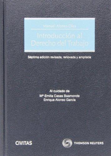 9788447045709: Introducción al Derecho del Trabajo (Papel + e-book)