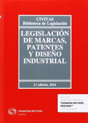 9788447046201: Legislación de marcas, patentes y diseño industrial (Papel + e-book) (Biblioteca de Legislación)