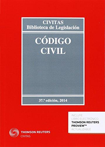 9788447047086: Codigo civil 37ed. (Biblioteca de Legislación)